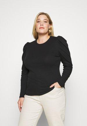 VMNATASHA PUFF TOP  - Long sleeved top - black
