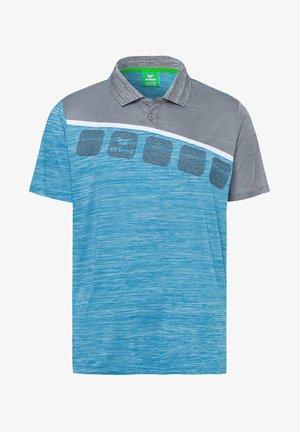 5-C POLOSHIRT KINDER - Poloshirt - blue/grey/white