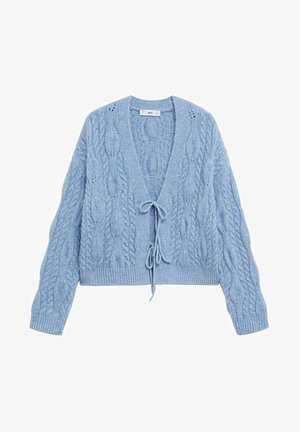 MOSHI - Cardigan - himmelblå