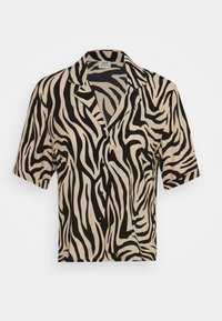 JDY - JDYTARA  - Button-down blouse - tapioca/black zebra - 0