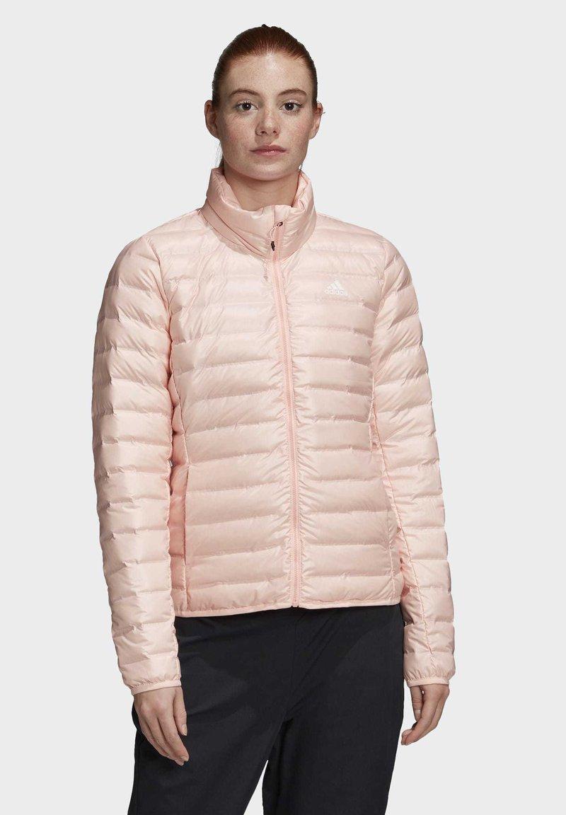 adidas Performance - VARILITE OUTDOOR DOWN - Down jacket - pink
