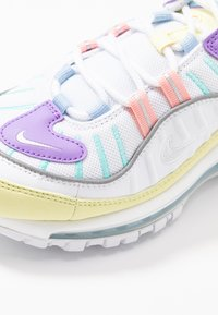 Nike Sportswear - AIR MAX 98 - Trainers - luminous green/white/atomic violet/bleached coral/psychic blue/light aqua - 2