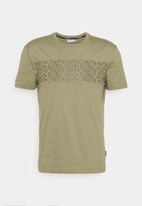 LOGO LINES - T-shirt imprimé - green