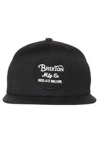 Brixton - WHEELER SNAP BACK - Kšiltovka - black - 2