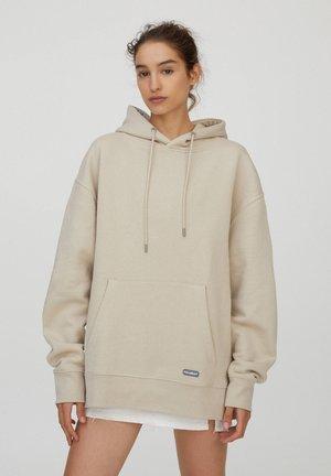 Hoodie - beige