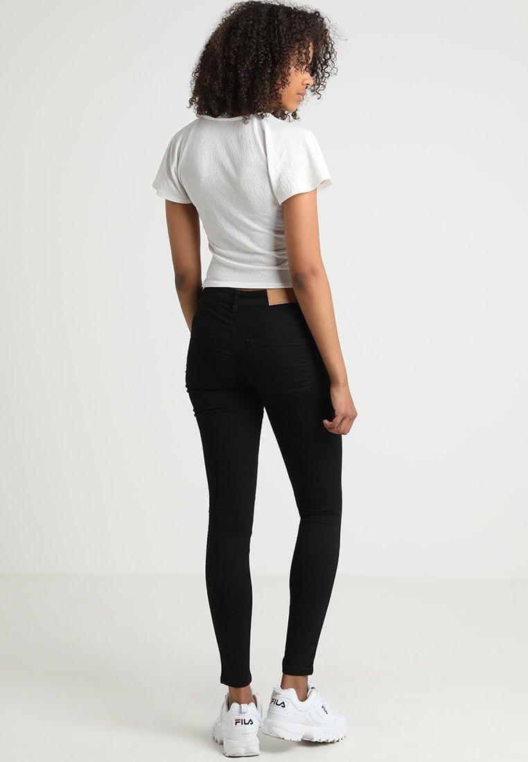 Object OBJSKINNYSOPHIE - Jeans Skinny Fit - black/schwarz H6SRxx