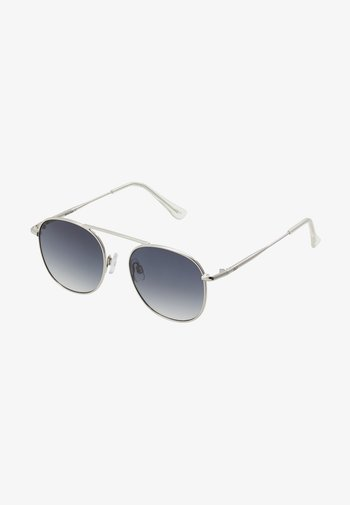 JACSTEAM SUNGLASSES - Sunglasses - silver-coloured