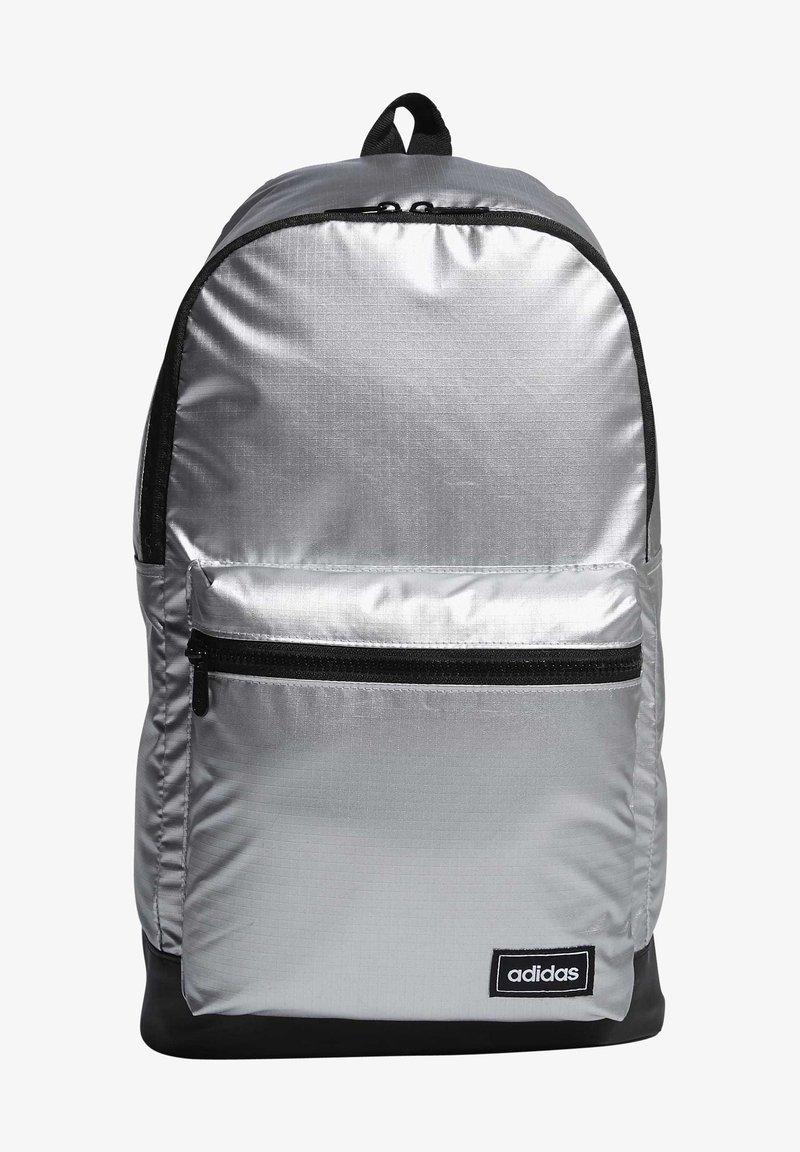 adidas Performance - CLASSIC METALLIC BACKPACK MEDIUM - Rygsække - silver