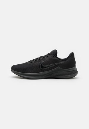 DOWNSHIFTER 11 - Neutral running shoes - black/dark smoke grey/light smoke grey