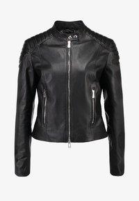 Belstaff - MOLLISON - Leather jacket - black - 5