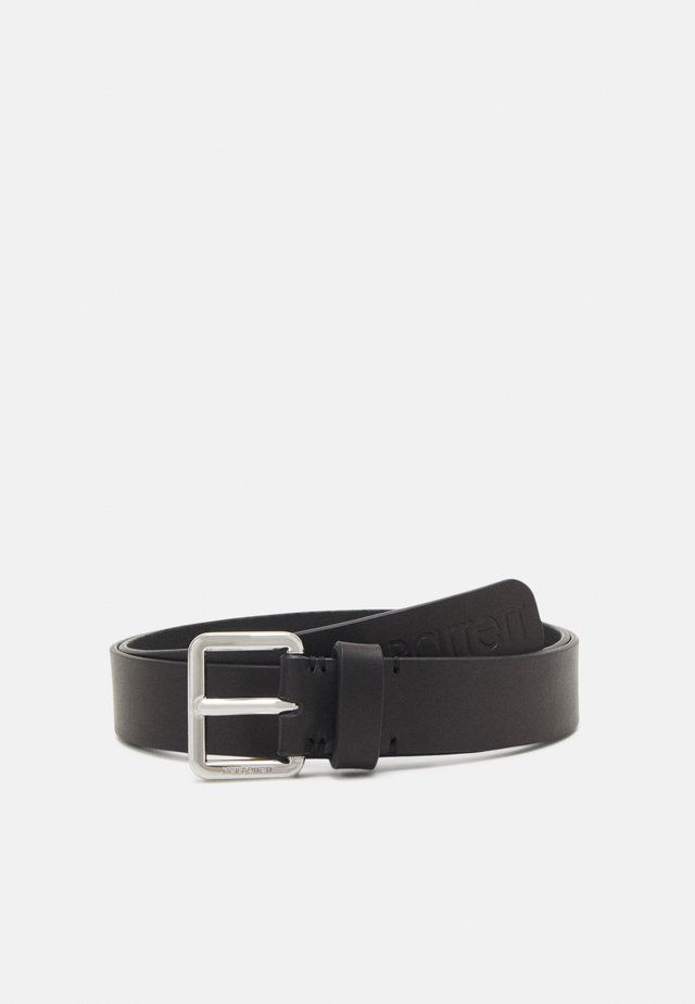 LOGO SQUARE BUCKLE BELT - Belt - black
