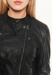 Notyz - EMMA - Leren jas - black - 4