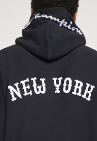 Champion Reverse Weave - HOODED NEW YORK - Sweatshirt - dark blue - 4