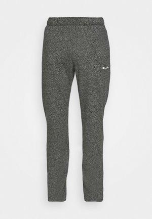 STRAIGHT HEM PANTS - Tracksuit bottoms - grey dark melange