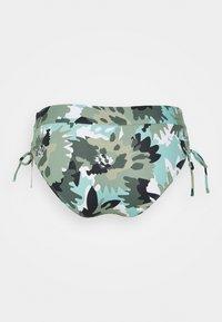 Esprit - HERA BEACH MID WAIST BRIEF - Bikini bottoms - khaki - 6