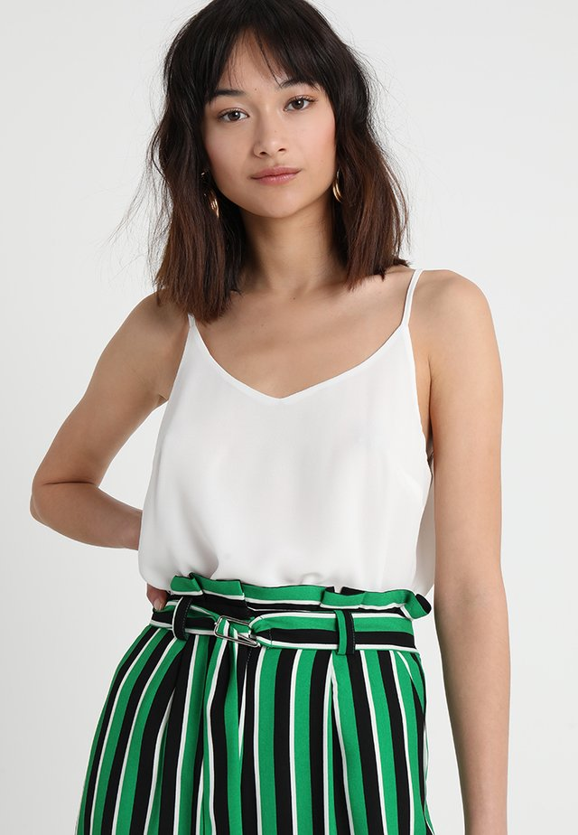 SRANNA SINGLET - Toppe - off white