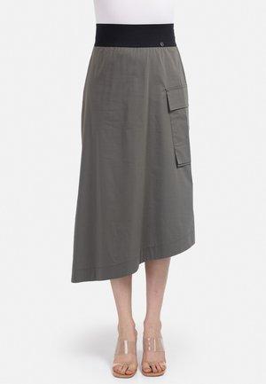 A-lijn rok - khaki