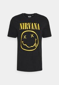 Only & Sons - ONS NIRVANA - Print T-shirt - black - 3