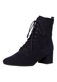 Tamaris - BOOTS - Lace-up ankle boots - navy - 3