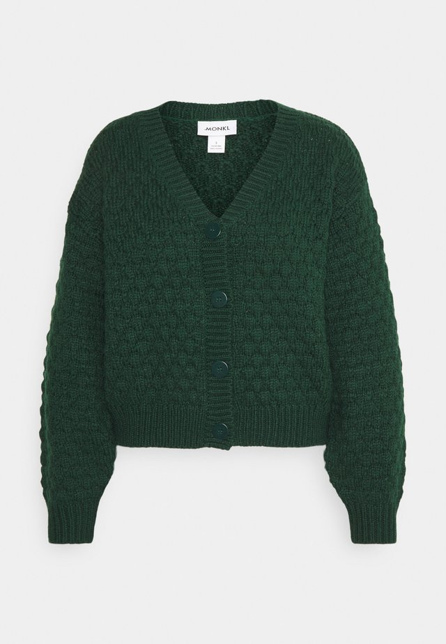 NINNI CARDIGAN - Strickjacke - green
