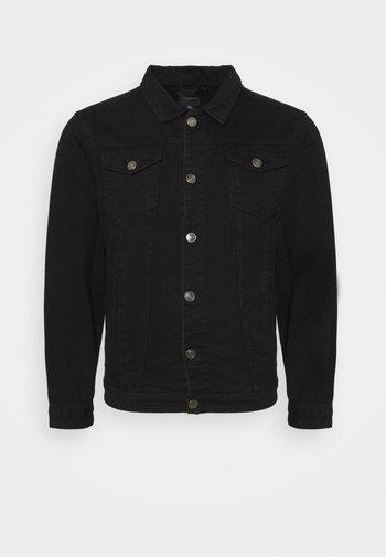 FIELDING - Denim jacket - black