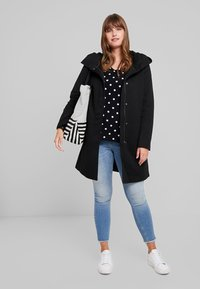 Vero Moda Curve - VMVERODONA - Classic coat - black - 1