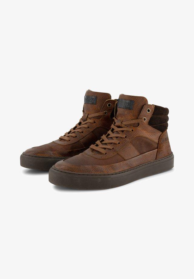 A.RIMALDI - Sneakers hoog - cognac