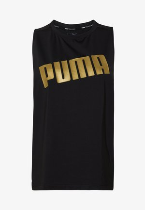 METAL SPLASH ADJUSTABLE TANK - Sports shirt - puma black