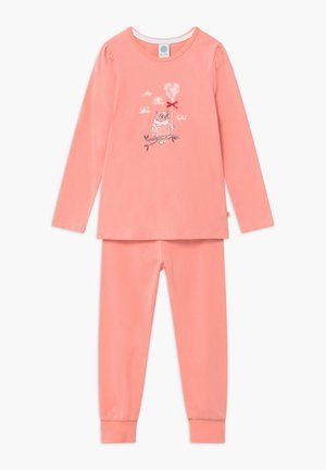 KIDS PYJAMA LONG - Pyžamová sada - peach