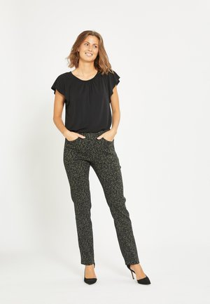 KELLY - Trousers - green