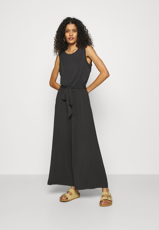 CROPPED SANDWASH  - Tuta jumpsuit - black