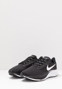 Nike Performance - AIR ZOOM PEGASUS 37 - Neutral running shoes - black/white - 2