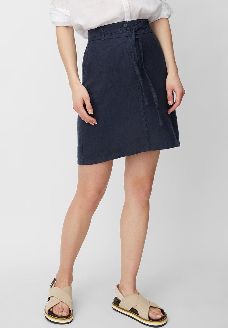 Marc O'Polo - A-line skirt - silent sea