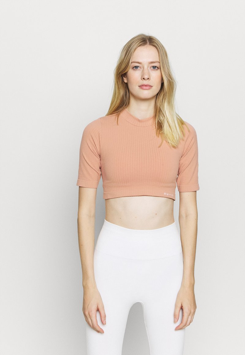 NU-IN - CROPPED  - T-shirts - light pink