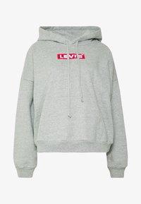 Levi's® - GRAPHIC HOODIE - Bluza z kapturem - mottled light grey - 4