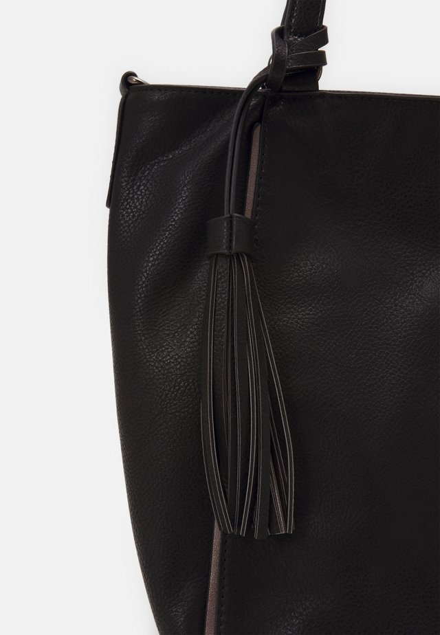 BIRTE - Handbag - black
