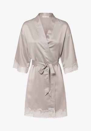 MIT SPITZE - Dressing gown - mauve