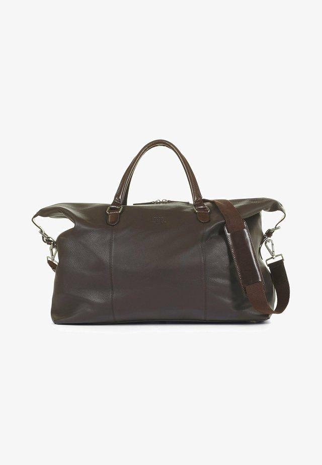 Taška na víkend - dark brown