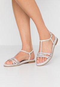 CAFèNOIR - Sandals - argento - 0