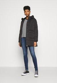 Tommy Jeans - HOODED  - Winter coat - black - 1