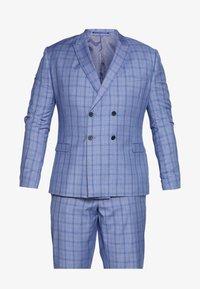 Isaac Dewhirst - BLUE CHECK SUIT PLUS - Suit - blue - 7