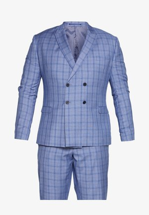 BLUE CHECK SUIT PLUS - Kostuum - blue
