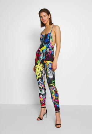 SQUARE NECK CATSUIT - Jumpsuit - multi-coloured