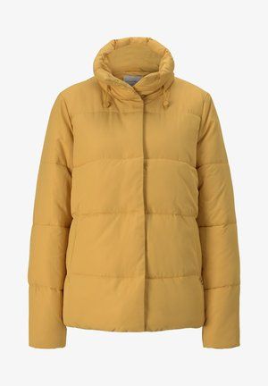 Winter jacket - indian spice yellow