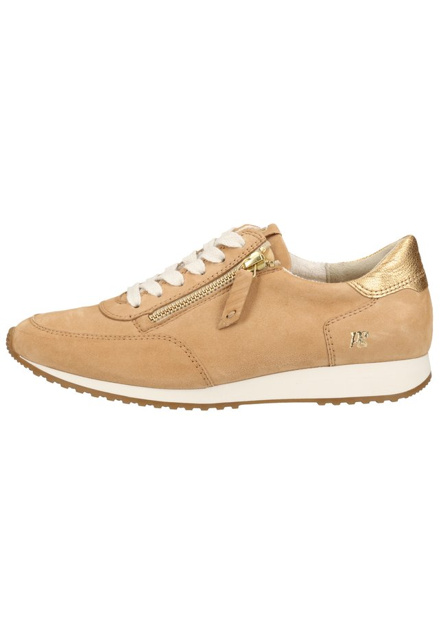 PAUL GREEN SNEAKER - Trainers - hellbraun/gold 036