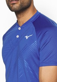 Mizuno - SHADOW - T-shirt print - mazarine blue - 5