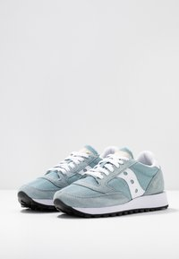 Saucony - JAZZ VINTAGE - Trainers - light blue/white - 4