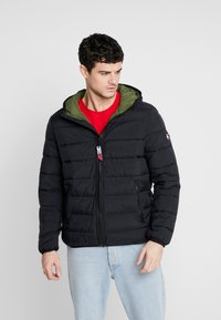 Tommy Jeans - TJM ESSENTIAL  - Winterjas - black - 0