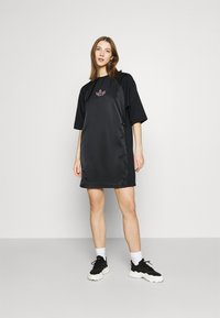 adidas Originals - TEE DRESS - Vestito estivo - black - 1