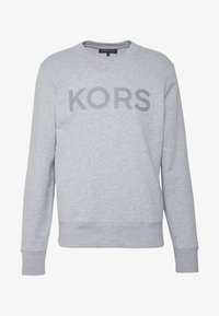 Michael Kors - GARMENT DYE LOGO - Felpa - heather grey - 3